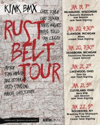 Kink BMX Rust Belt Tour 2017 at Breaking Free Skatepark