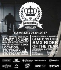 Freedom BMX Awards
