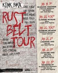 Kink BMX Rust Belt Tour 2017 at Ray's Bike Park