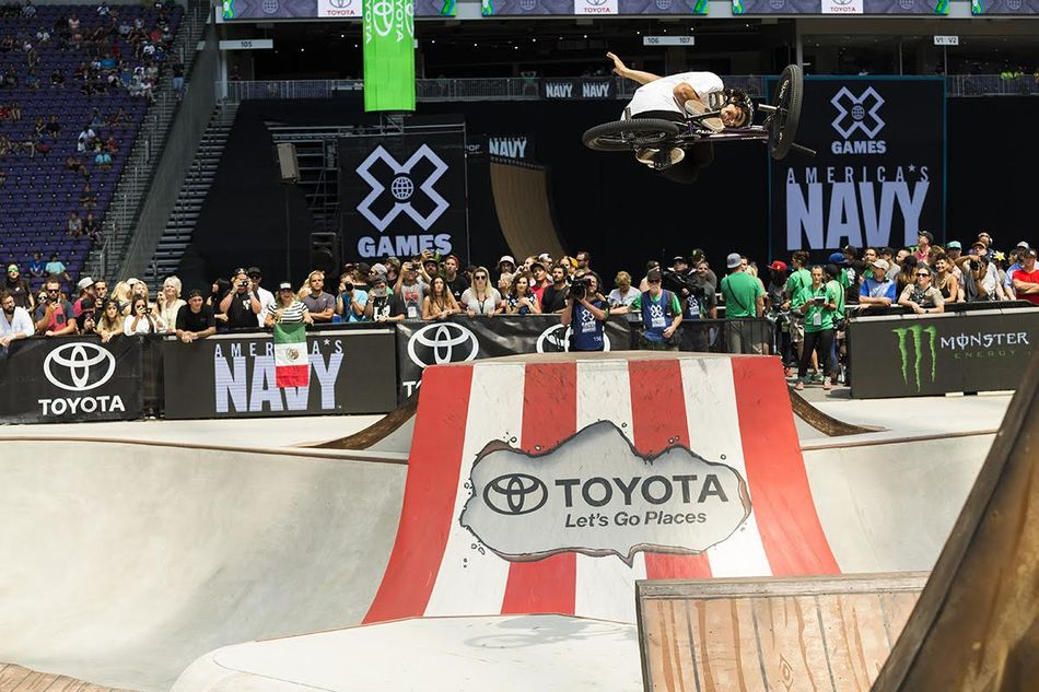 Peraza Wins Gold in BMX Park at X Games Minneapolis