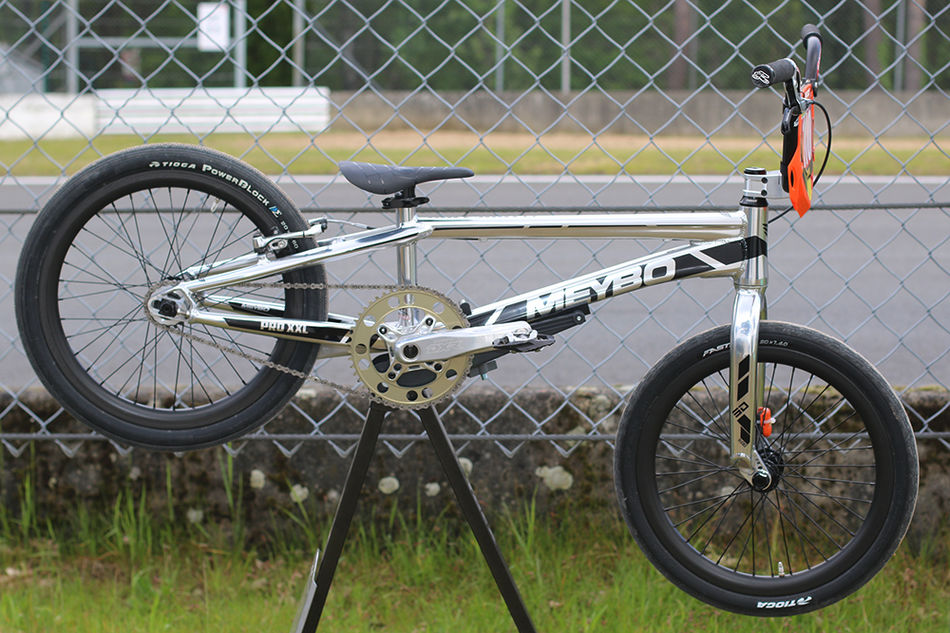 BIKE CHECK: Laura Smulders. World Cup leader's Meybo Holeshot XXL
