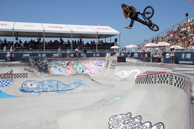 Final Contenders Decided for Vans BMX Pro Cup Series. Enarson wins Semi-Finals in HB.