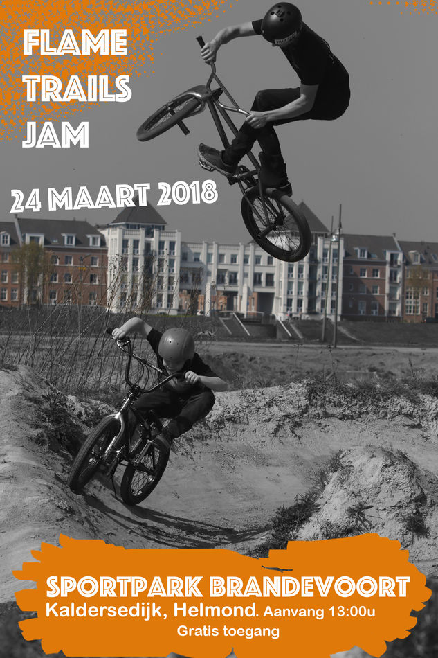 24 March 2018: Annual Dirt Jam at the Flame Trails. Dig in!