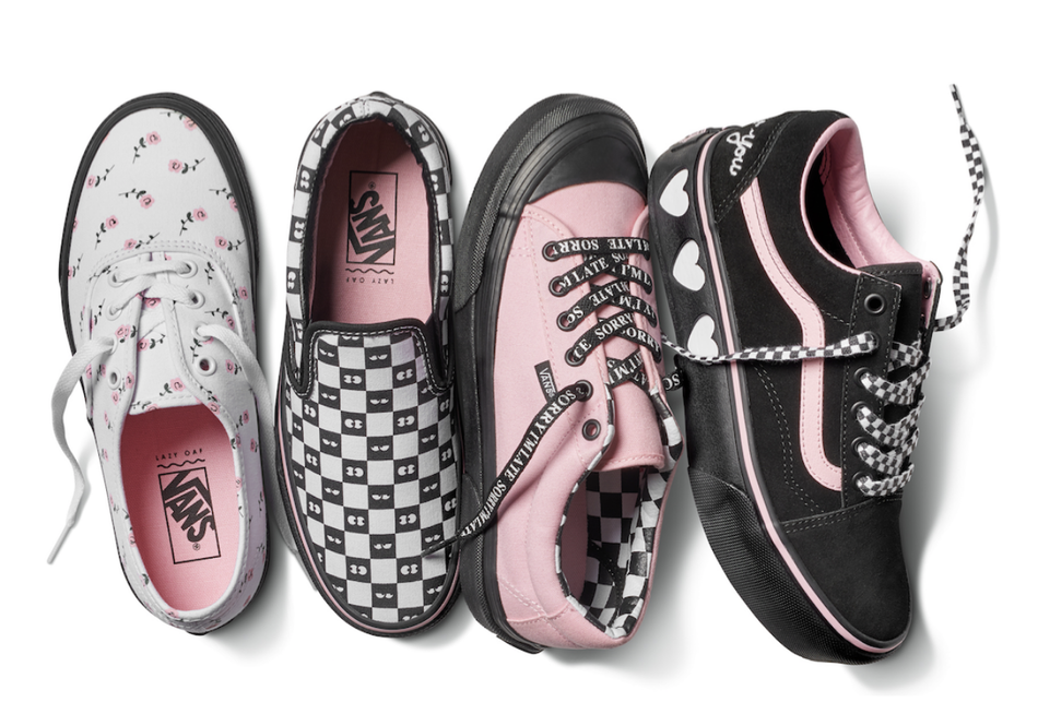 Vans and Lazy Oaf Come Together for Exclusive Collection 3d7b0fd16