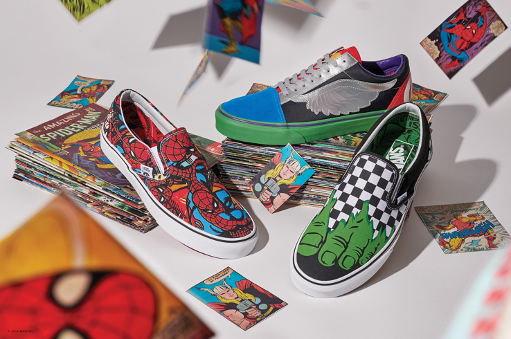 e1c826cd970 Vans Joins Forces with Marvel to Assemble an Epic Collaboration