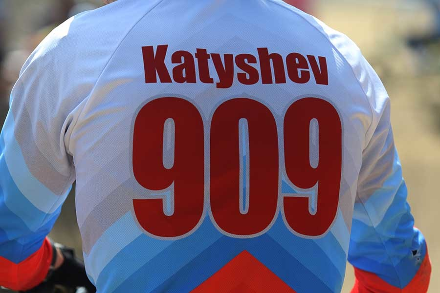 Alexandr Katyshev finished 2nd at the Russian BMX Championships.