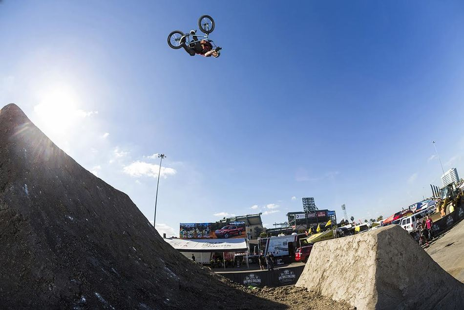 It's nice to have BMX Dirt at the Supercross events.