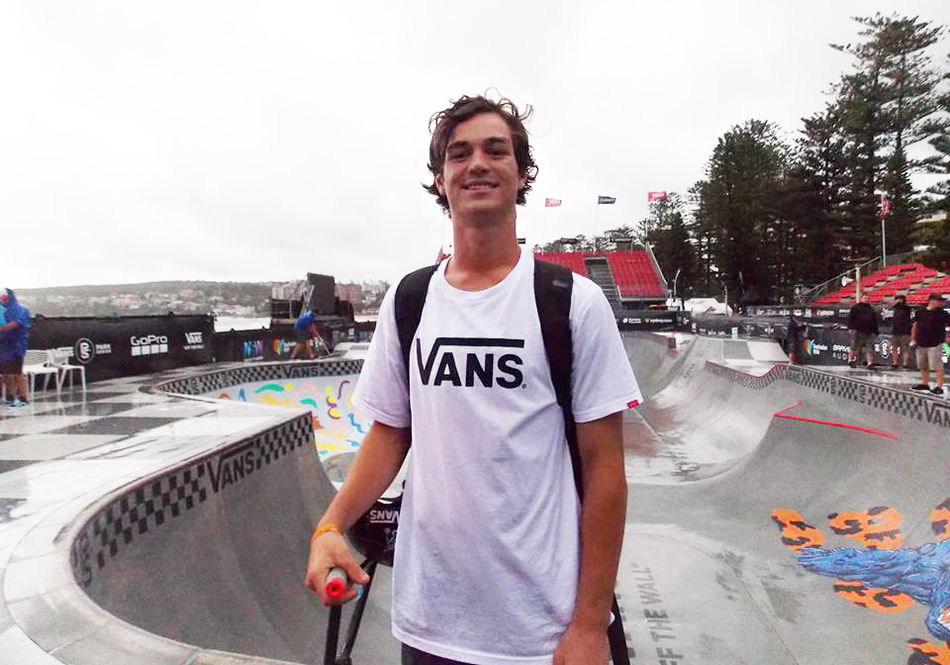 Alex Hiam interview straight from the Vans Pro Cup in Oz