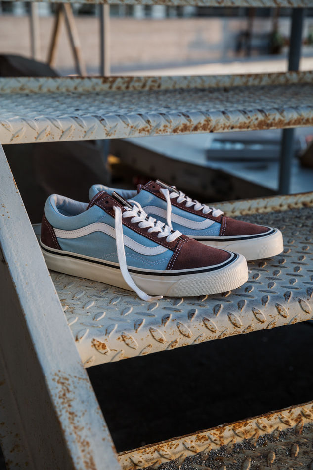 sp17 classics vn0a38g2mwo oldskool36dx anaheimfactory brown lightblue elevated