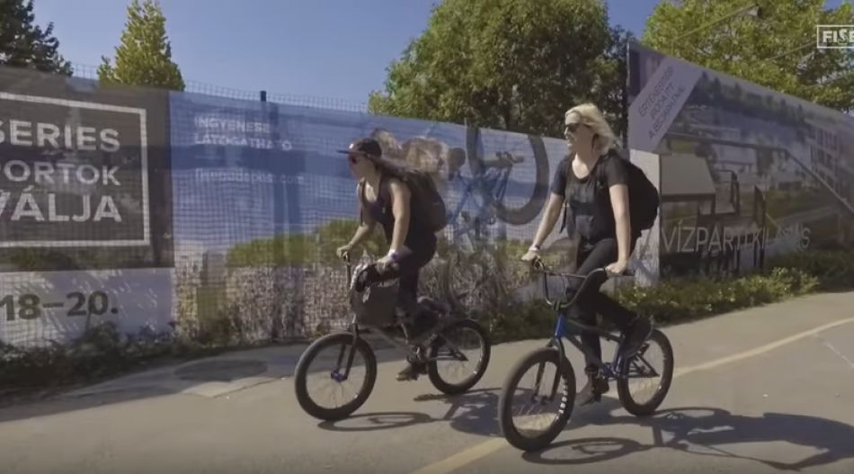 Ride Around Budapest with Cory Coffey and Nikita Ducarroz