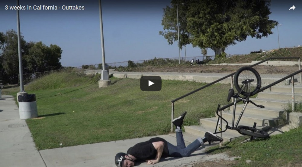 3 weeks in California - Outtakes by ColonyBMXBrand