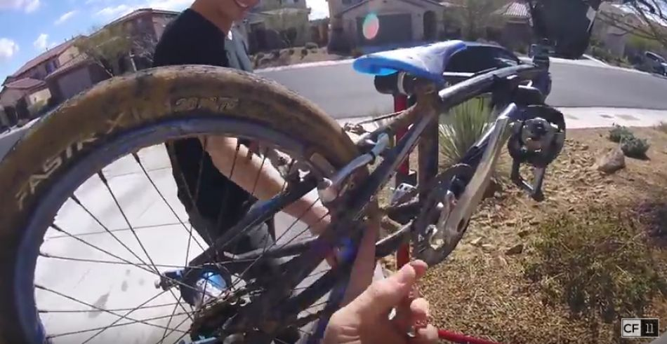 Phoenix BMX MUD RACE & AFTERMATH + Jersey Giveaway! by Connor Fields