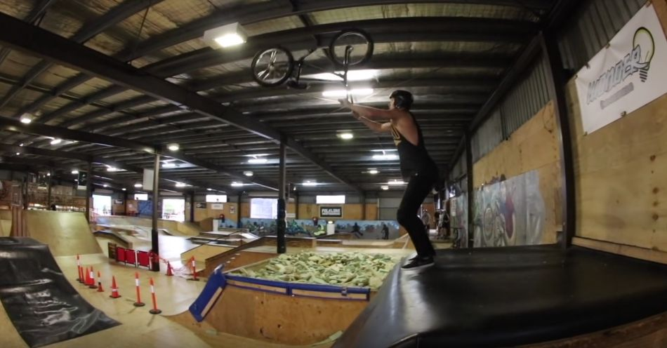 WORLD'S FIRST TRICK ON BMX! by Ryan Williams