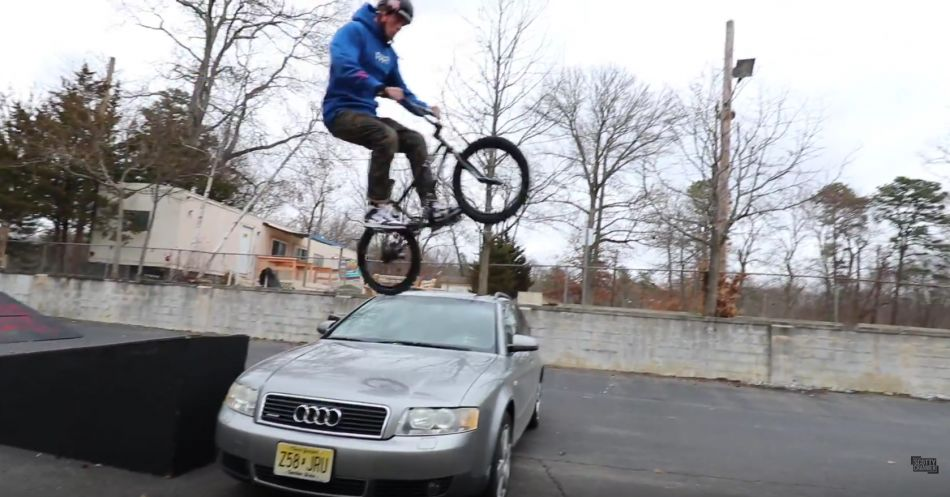LETTING MY FRIENDS JUMP OVER MY AUDI! by Scotty Cranmer