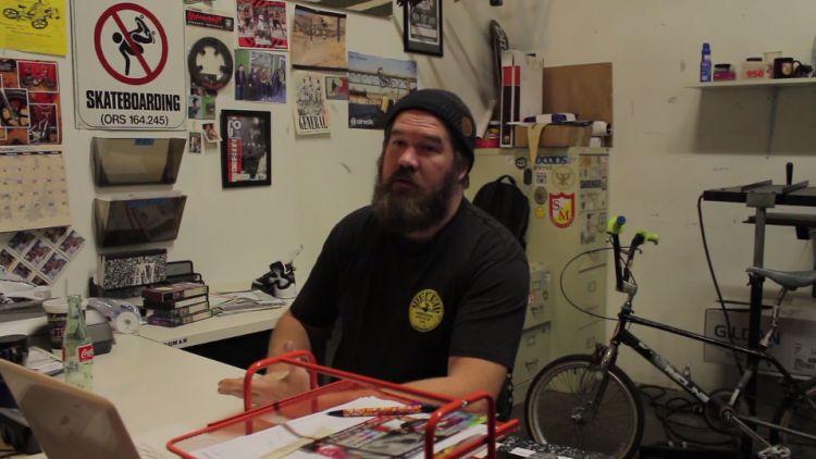 Shad Johnson - The Man Behind the PDX BMX Scene  from Sebastien O'Halloran
