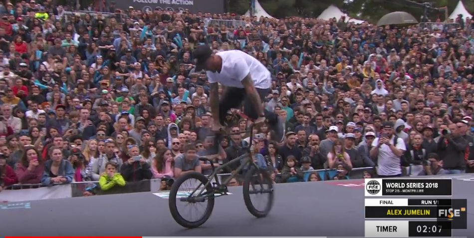 Alex Jumelin | 2nd Final UCI BMX Freestyle Flatland World Cup - FISE World series Montpellier 2018