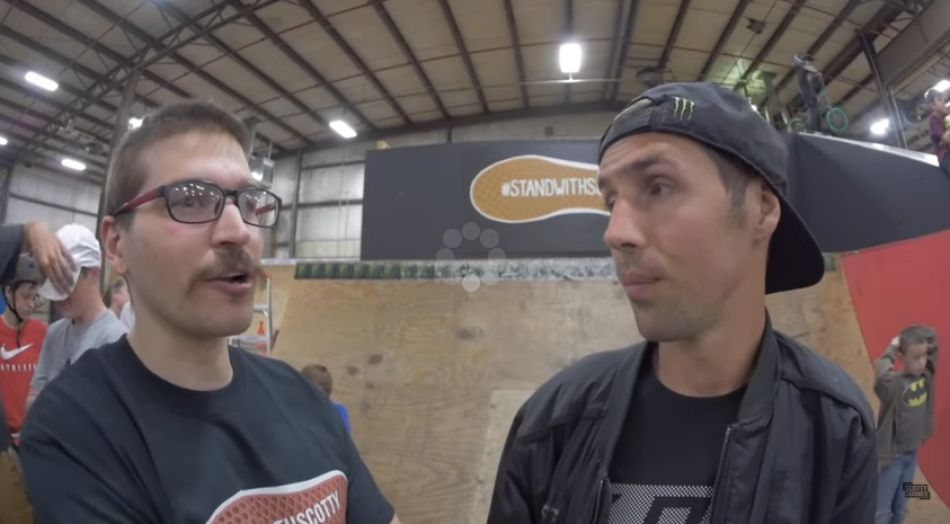 KITCHEN SKATEPARK CONTEST FOR SCOTTY CRANMER!