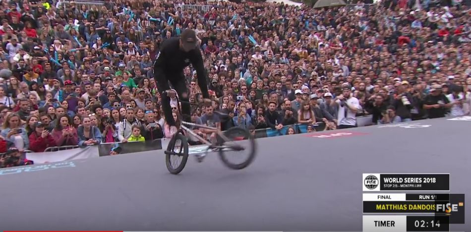 Matthias Dandois | 1st Final UCI BMX Freestyle Flatland World Cup - FISE World Series Montpellier