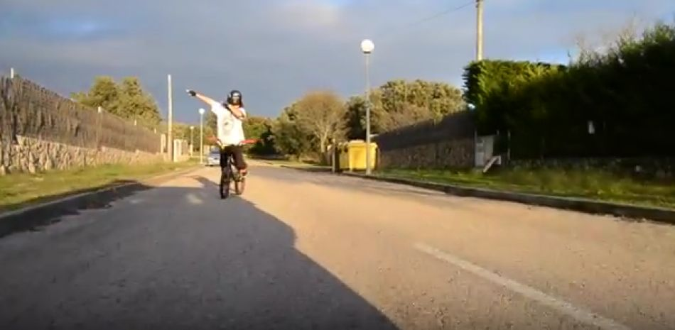 FATBMX KIDS: The dream. Andrés Castro (11). LosTresEspias