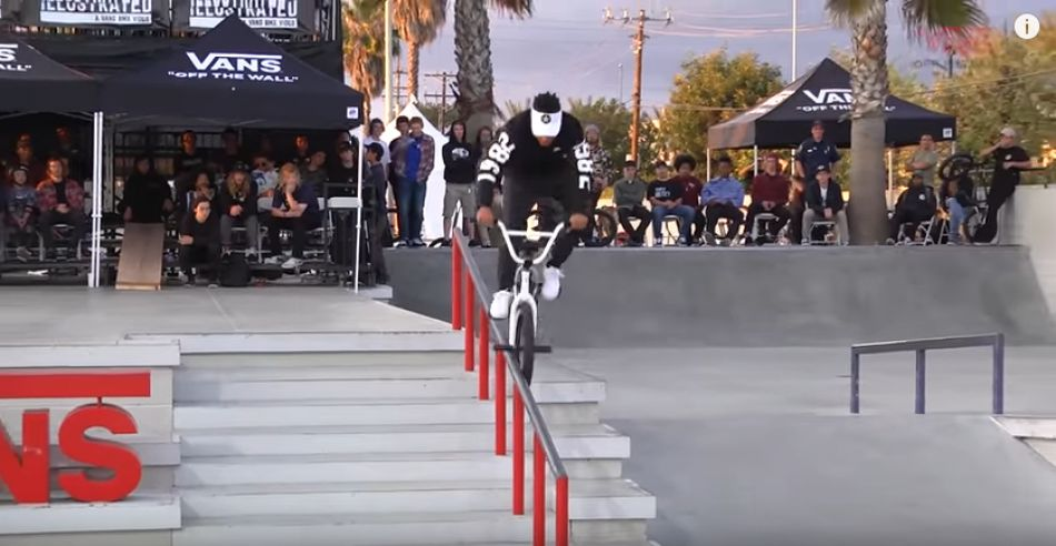 2017 Vans BMX Street Invitational: Chad Kerley - 3rd Place Run