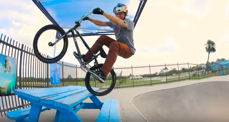 Riding the Black Pearl on a BMX. By Red Bull