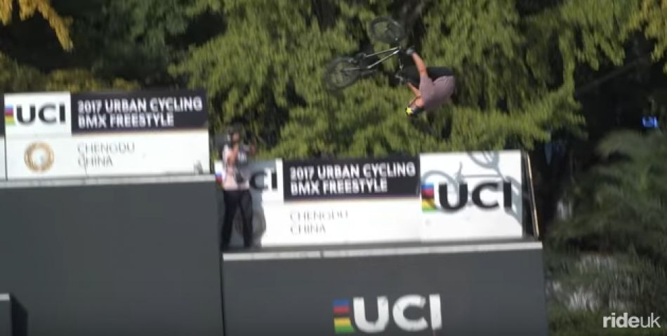 Savage Run! Nick Bruce BMX @ UCI Urban Cycling Championships