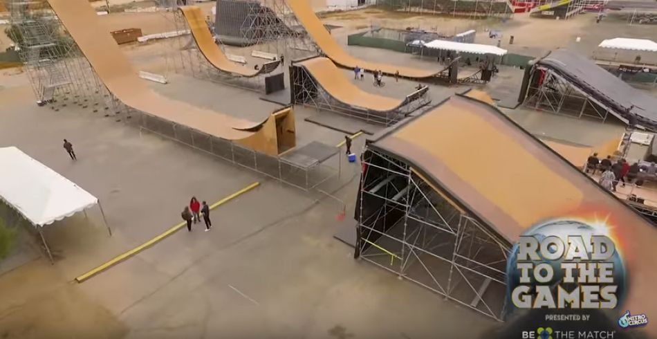 BMX Triple Hit Qualifier Highlights for Nitro World Games 2017