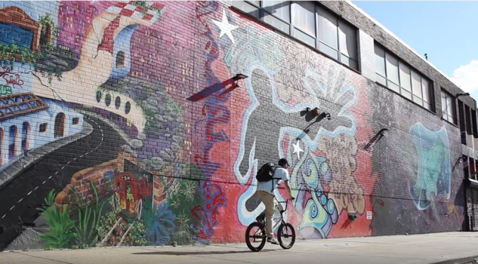 RIDING NYC WITH THE HEAVIEST BMX SQUAD by Anthony Panza