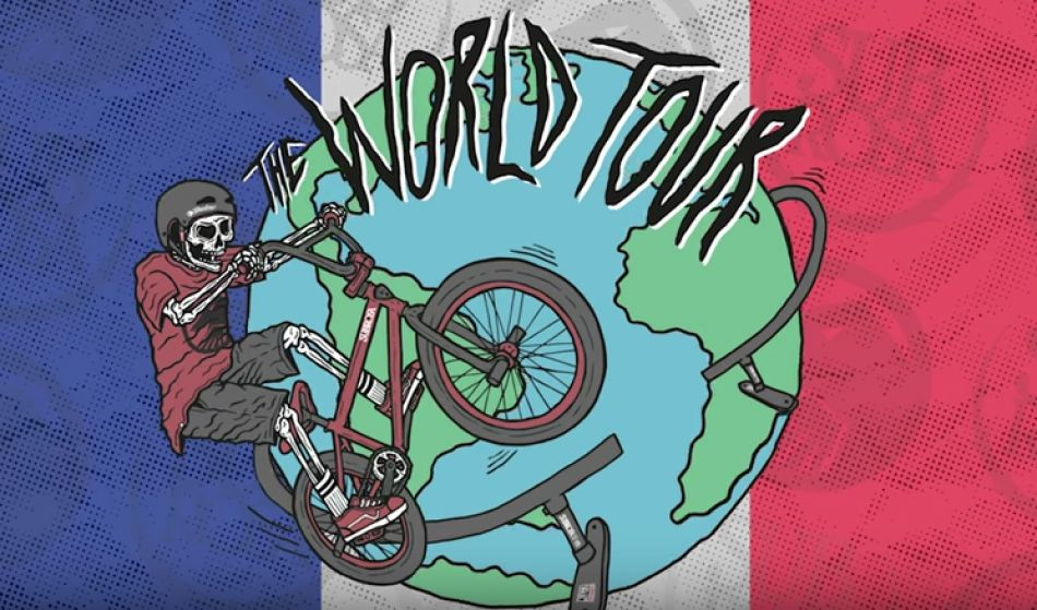 Shadow and Subrosa BMX World Tour in France by The Shadow Conspiracy