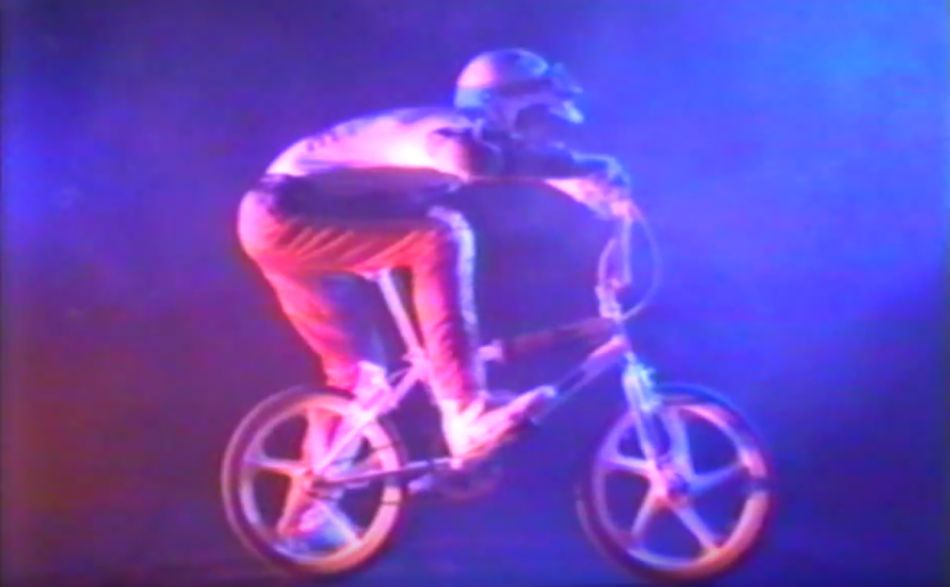 Rippin BMX Action Trick Team 1985 by Andrew Losli