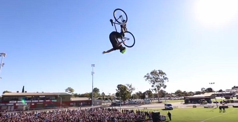 CRAZY WORLD FIRST TRICK AT NITRO CIRCUS! by Ryan Williams