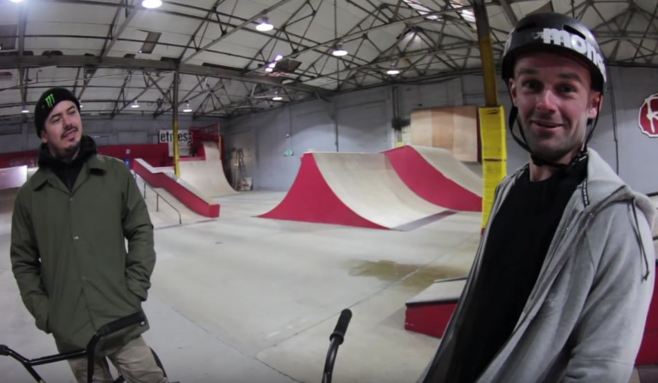 PRO BMX RIDERS CALL THE SHOTS! by Rampworx Skatepark