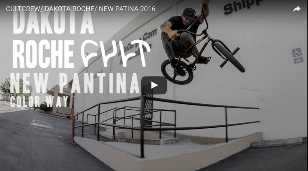 Cultcrew/ Dakota Roche/ New Patina 2016 by Cult Crew