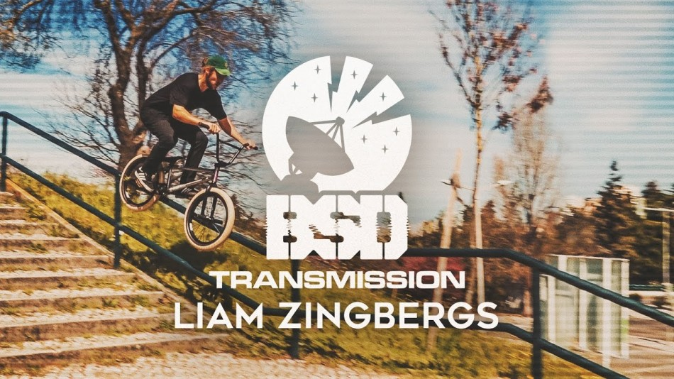 BSD Transmission - LIAM ZINGBERGS - DVD Part by BSD Forever BMX