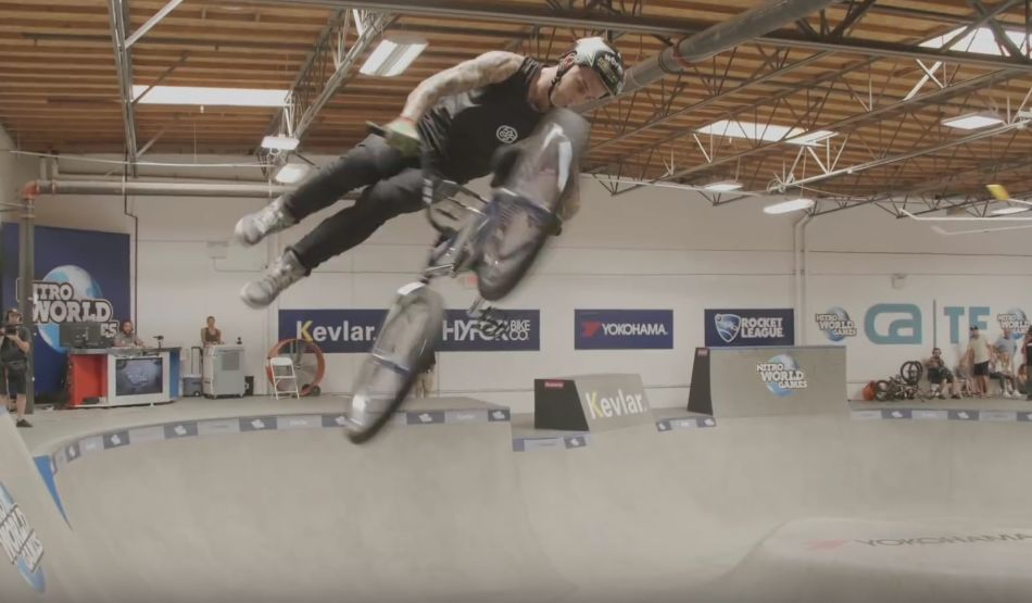 LOGAN MARTIN'S WINNING RUN - NITRO WORLD GAMES by Ride BMX