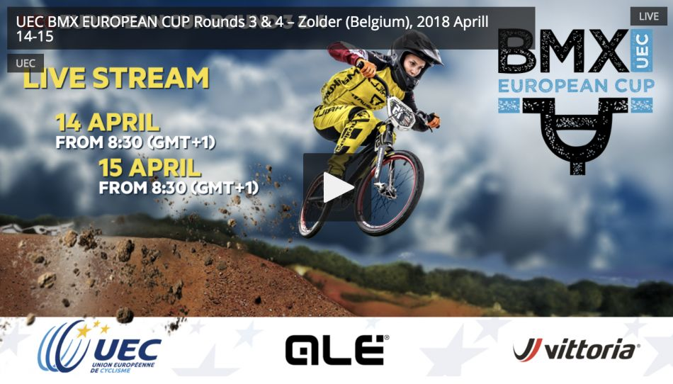 Live on FATBMX today: UEC Round 4, Zolder, Belgium