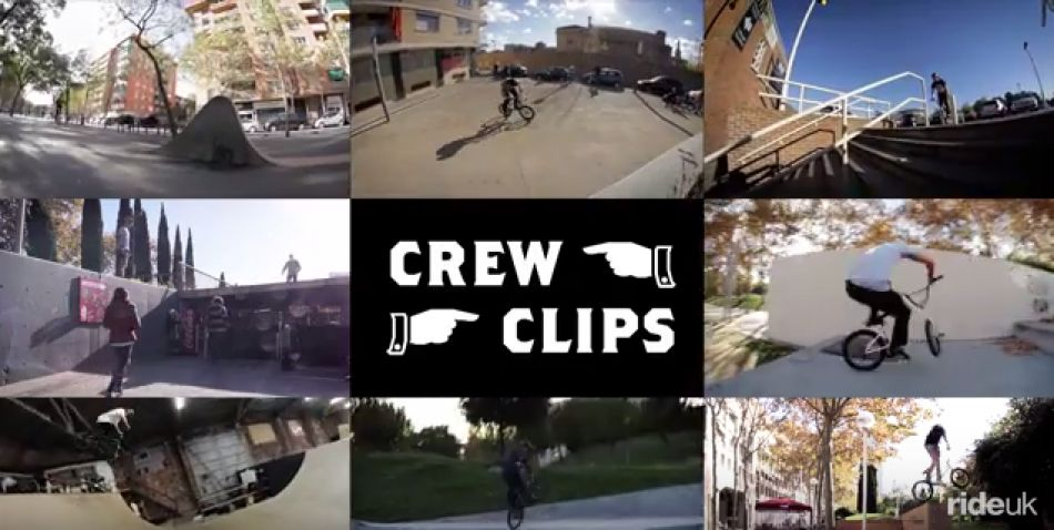 CREW CLIPS – Vol 1 by Ride UK BMX