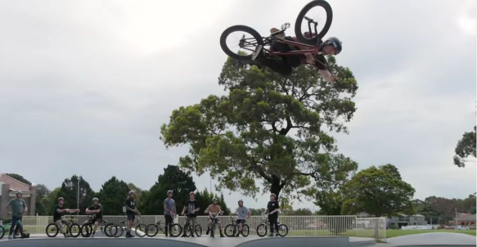 The Craziest BMX Bowl Session Ever - On Deck At Five Dock by Dan Foley