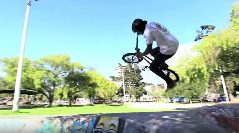 "Raw Footage of Jorge ""Kazique"" Ceballos in Ecuador! Kink BMX"
