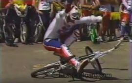 Mike Buff & RL Osborn 1984 Old School BMX Video by FirstOnBoard
