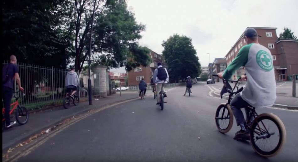 BMX Street in Bristol with Jordan Godwin, Emerson Morgan & Michael Suttle by Ride UK
