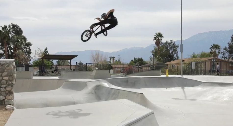 Larry Edgar: A Day in the Desert Video. By Vital BMX