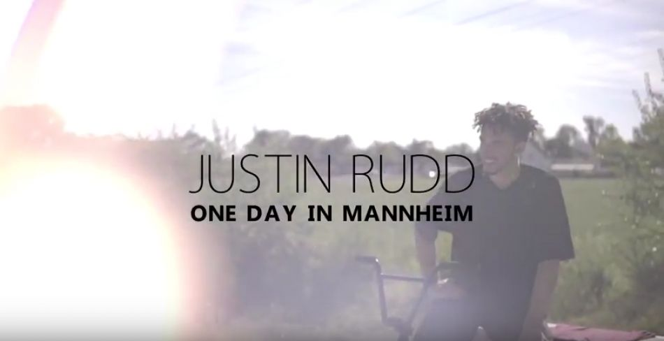 Justin Rudd One day in Mannheim BMX 2017 by kunstform BMX Shop & Mailorder