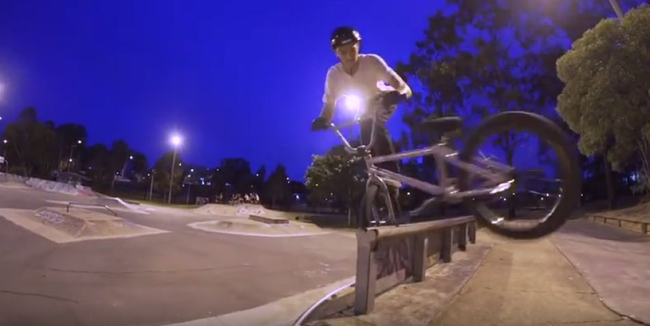 Alex Hiam @ Woodridge Park - Colony BMX