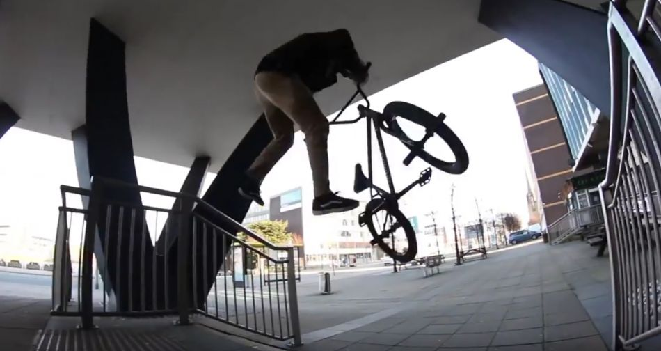 S&M x DUB - Hobie Doan in Liverpool by sandmbikes