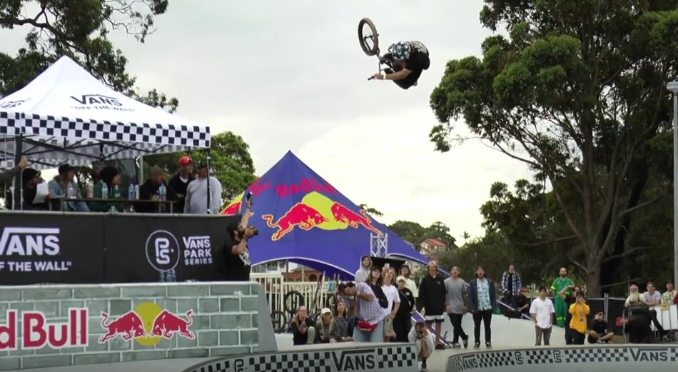LARRY EDGAR WINS GOLD AT VANS BMX PRO CUP SYDNEY by Ride BMX
