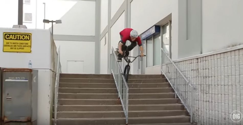 Business BMX II DVD - Alexis Leger Section