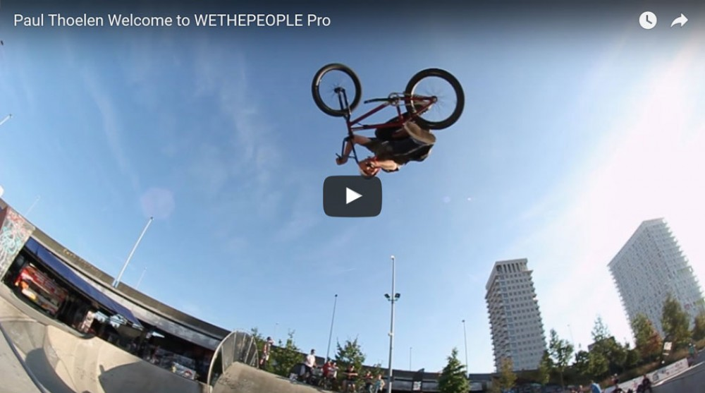 Paul Thoelen Welcome to WETHEPEOPLE Pro by Markus Wilke