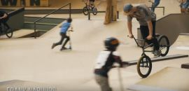 FIRST EVER AREA 51 SKATEPARK BMX SESSION by Bob Drenth