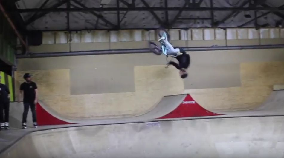 KAINE MITCHELL & SAM JONES AT CREATION SKATEPARK! Thrill Seekers Extreme Sports